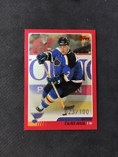 2003-04 TOPPS KEITH TKACHUK RARE RED PARALLEL #ed 23/100