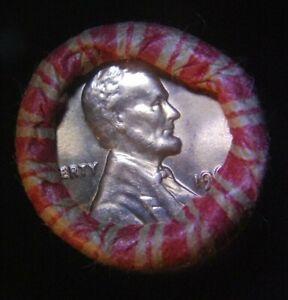BU 1968-D LINCOLN MEMORIAL CENT ROLL  (7-27-01)