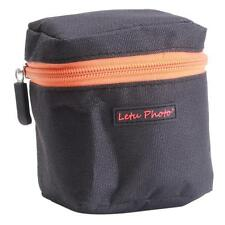 Pro Black Soft DSLR Camera Lens Bag Pouch Case Shock Protector 8.5*8*10.3cm - CB