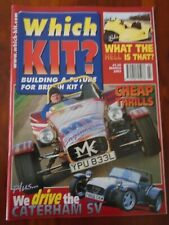 Which Kit? Mar 2002 Caterham SV, MK Indy, Freestyle