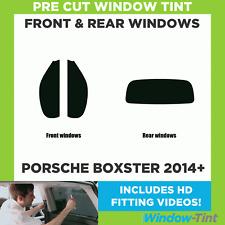 Pre Cut Window Tint - Porsche Boxster 2014 Full Kit