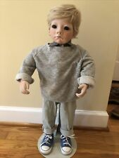 Judith Turner Boy doll Chad In Jeans 187 Of Limited Edition Of 250 with COA