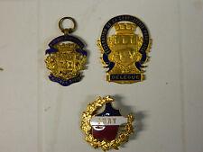 Lot de 3 Médailles