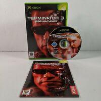 Terminator 3: Rise Of The Machines - Original Xbox - PAL - Complete - Free P&P