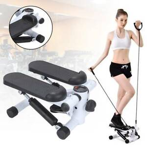 Exercise Stepper Cardio Machine Workout Training Fitness Gym Leg Arm Cord Home