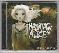 (GX295) Hashtag Alice, It Is What It Is - 2011 sealed CD