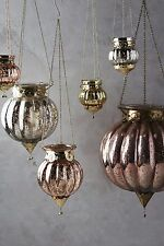 NWT Anthropologie Hundi Mercury Lantern Gold Small