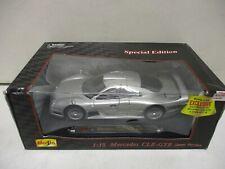 Maisto Mercedes CLK-GTR Street Version 1/18
