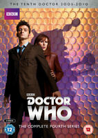 Doctor Who: The Complete Fourth Series DVD (2014) David Tennant cert 12 6 discs