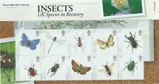GB Presentation Pack PP412 Insects 2008