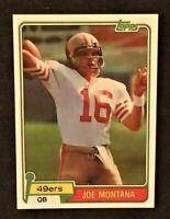 1981 Topps # 236 JOE MONTANA ROOKIE Rc REPRINT San Francisco 49ers