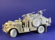1/35th Resicast WWII British LRDG heavy Armed patrol truck late conv