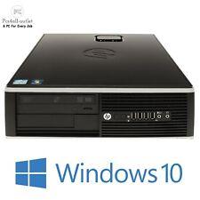 HP Elite 8300 SFF PC Intel Pentium G2020 2.9GHz 8GB 1TB HDD, SSD Windows 10 Wifi