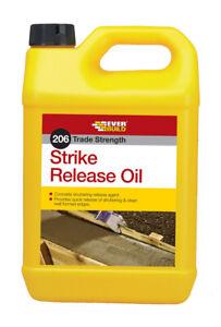 EVERBUILD - 206 STRIKE RELEASE OIL 5L - CONCRETE SHUTTERING RELEASE AGENT
