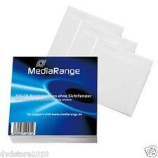 Mediarange Box66 Sleeve Case 1discs White
