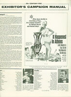 It Happened in Athens (1962)  Jayne Mansfield, Trax Colton pressbook