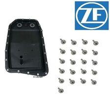 For OEM ZF Automatic Transmission Oil Pan & Filter Kit For BMW Jaguar Land Rover