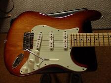 USA Fender American Standard Stratocaster Custom Sienna Burst Swamp Ash Maple