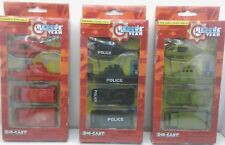 12 Police FIRE ARMY Vehicles Rescue Team Made Of Die Cast Metal Christmas GIFT