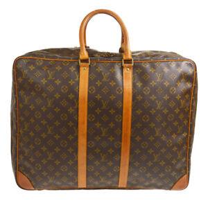 LOUIS VUITTON SIRIUS 55 TRAVEL HAND BAG  PURSE MONOGRAM M41404 ue 90693