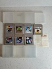 Nintendo Gameboy Game Lot 7 games star wars nemesis choplifter days of thunder