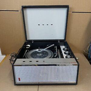 Vintage Bush SRP51 Transistorised Record Player & Gerrard 2025TC Turntable