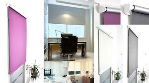 Thermo Verdunkelungs Rollo Fenster easy Klemm fix ohne Bohren Ketten Seiten zug