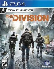 Tom Clancy's The Division GAME Sony PlayStation 4 PS PS4