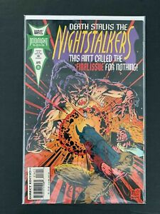 NIGHTSTALKERS #18  MARVEL COMICS 1994 VF+
