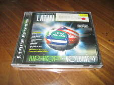 Latin World Hip Hop Volume 4 CD - NB Ridaz Angelina Baby Bash LUCKY Gemini SAVEN