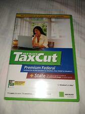 H&R Block Tax Cut Premium Federal + State 2006 Tax Year Windows and Mac CD-ROM