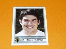 N°32 MAILLARD SC ALBI PANINI RUGBY 2007-2008 TOP 14 CHAMPIONNAT FRANCE