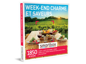 Smartbox « Week-end charme et saveurs »