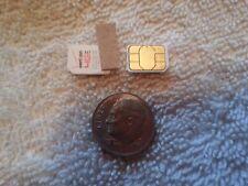 (Lot of 2) Used Verizon 4G Nano LTE SIM Card For iPhone & iPad and iPad Mini
