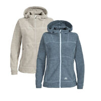 Trespass Scorch Womens Fleece Zipper Hooded Top