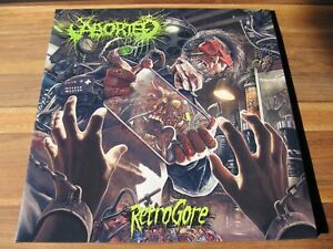 ABORTED – Retrogore LP – lim. 100 (clear) – Benighted, Dying Fetus, Carcass