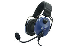 SL-800 SkyLite Aviation Pilot Headset, Dual Plug for GA  with FREE BAG, Foldable