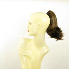 Extension coda di cavallo donna breve 28 cm cioccolato mechato ramato rif. 9 in