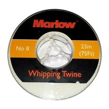 Marlow Whipping Twine No / Size 8 in White - 23m (75ft)