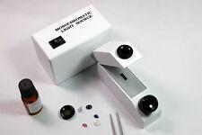 Gems Refractometer kit,Monochromatic Light source.white