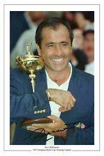 SEVE BALLESTEROS 1997 RYDER CUP SIGNED PHOTO PRINT