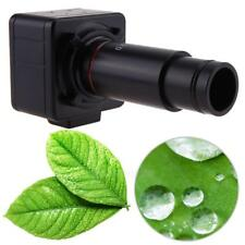5MP USB Digital Microscope Camera Eyepiece with 0.5X C-Mount 30&30.5mm Adapter