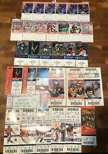 Denver Broncos Football Ticket Stub |  You Pick 1982-2009