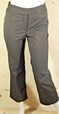 CAROLL T 34 Superbe pantalon noir rayures verticales beautiful trousers pants