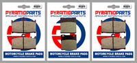 Pyramid Parts Front & Rear Brake Pads PP158 PP158 PP063