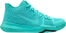 NIB NIKE KIDS 5Y KYRIE 3 (GS) 859466 401 AQUA BASKETBALL CASUAL SHOES $100 NEW