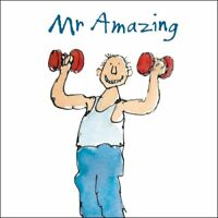 Mr Amazing Happy Birthday Quentin Blake Greeting Card Square Greetings Cards