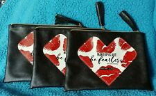 3 new, never used Maybelline Makeup is Art Be Fearless Makeup cases