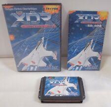 Mega-Drive Genesis -- XDR -- X DAZEDLY RAY -- Boxed. JAPAN Game SEGA. 11476