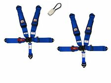 Simpson 3x3 Latch Race Harnesses Bolt In Blue W/Black Hardware Yamaha Bypass
